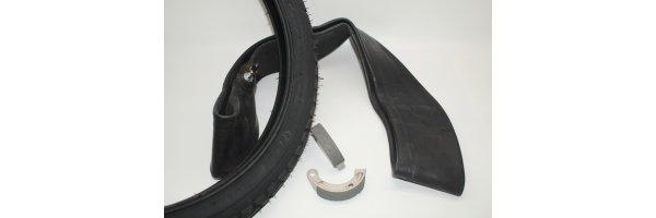 Felgen / Reifen / Bremse
