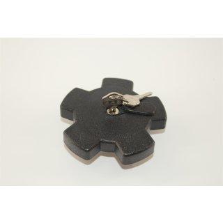 Tankdeckel Sternförmig abschließbar 40 mm
