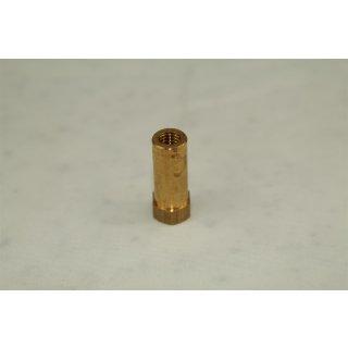 Krümmer Auspuffmutter M6 x 25 mm Messing