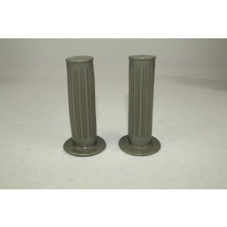 Zündapp Gummigriff Satz Grau 24/24 mm x 105 mm Universal