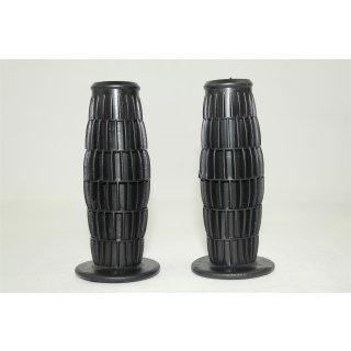 Gummigriff Satz Schwarz 22/24 mm  x 115 mm