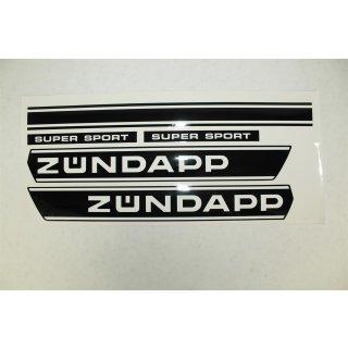Zündapp Aufkleber Set 517 Tank Super Sport 5 teilig