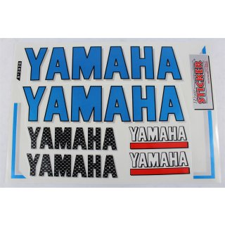 Yamaha Aufkleber Set