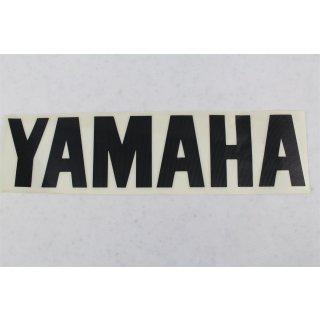 Yamaha Aufkleber Schwarz 65 x 270 mm