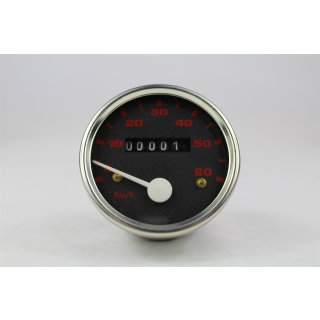 Zündapp Tacho 0 - 60 km/h 60 mm