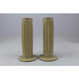 Zündapp Gummigriff Satz Creme 24/24 mm x 105 mm Universal