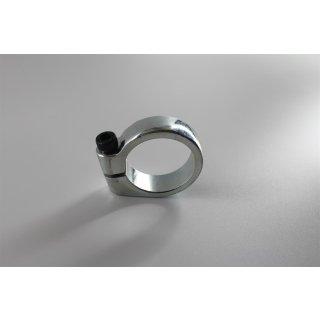 Klemmring Klemmschelle Auspuffkrümmer 32 - 35 mm poliert